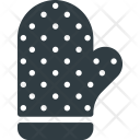 Kitchen Oven Gloves Icon