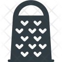 Kitchen Grater Razor Icon
