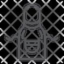 Kitchen apron Icon