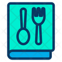 Food Recipes Recipes Book Food Book Icon