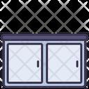 Kitchen Cabinet Locker Icon