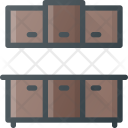 Kitchen Cabinets Counter Icon