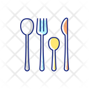 Forks Spoons Knife Icon