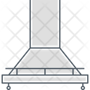 Hood Chimney Induction Icon