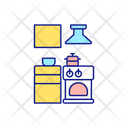 Working Space Interior Icon