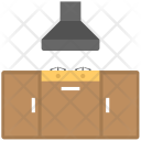 Kitchen Hood Cooker Icon