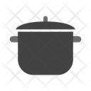 Kitchen Pot Saucepan Casserole Icon