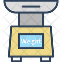 Weight Scale Kitchen Scale Food Scale Icon