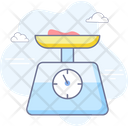 Cooking Kitchen Scales Icon