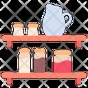 Kitchen Shelf Icon