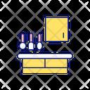Using Space Organization Icon