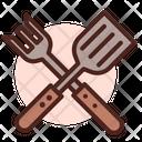 Kitchen Utensil Spatula Tools Icon