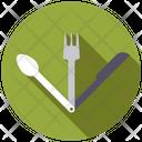 Folding cutlery Icon