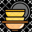 Kitchen Ware Kitchen Pack Restaurante Icon