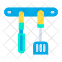 Spatula Rasp Kitchen Equipment Icon