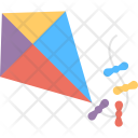 Kite Colorful Flying Icon
