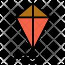 Flight Flying Kite Icon
