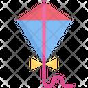 Kite Flying Toy Icon