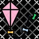 Kite Fly A Kite Kites Icon