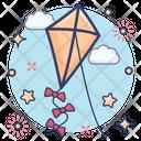 Child Kite Flying Kite Kite Icon