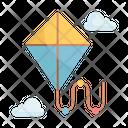 Kite Hobby Flying Icon
