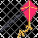 Summer Kite Flying Icon