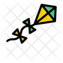 Kite Flying Hobby Icon