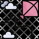 Kite Hobby Game Icon