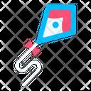 Kite Festival Spring Icon