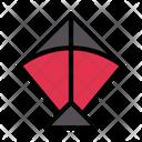 Kite Fly Toy Icon