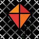 Kite Toy Nature Icon