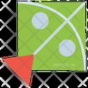 Fly Flying Kite Icon