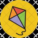 Kite Play Toy Icon