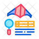 Kite Flight Research Icon