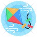 Kite Flying Kiting Fun Activity Icon