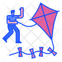 Kite Flying Kite Sky Icon