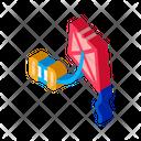 Kite Rope Keg Icon