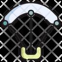 Kiteboarding Icon