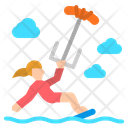 Kitesurf Kite Surf Icon