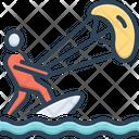 Kitesurfer Icon