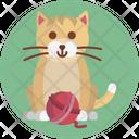 Kitten Cat Animal Icon