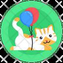 Cat Balloons Kitten Balloons Pet Balloons Icon