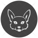 Kitty Cat Face Icon