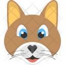 Brown Kitty Cat Icon
