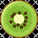 Kiwi Fruit Fit Icon
