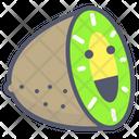 Kiwi Fruit Sliced Icon