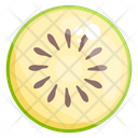 Kiwi Fruit Healthy Food Icon