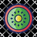 Kiwi Fresh Fruit Icon