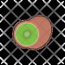 Kiwi Fruit Eat Icon