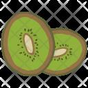 Kiwi Fruit Healthy Icon